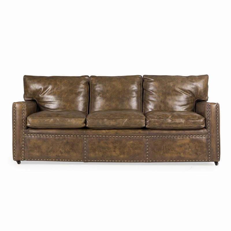 Conan Leather Sofa