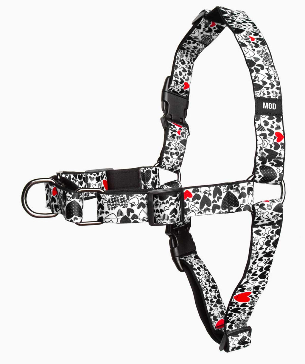 Stronger Together No-Pull Harness - A Side - MODLEASH