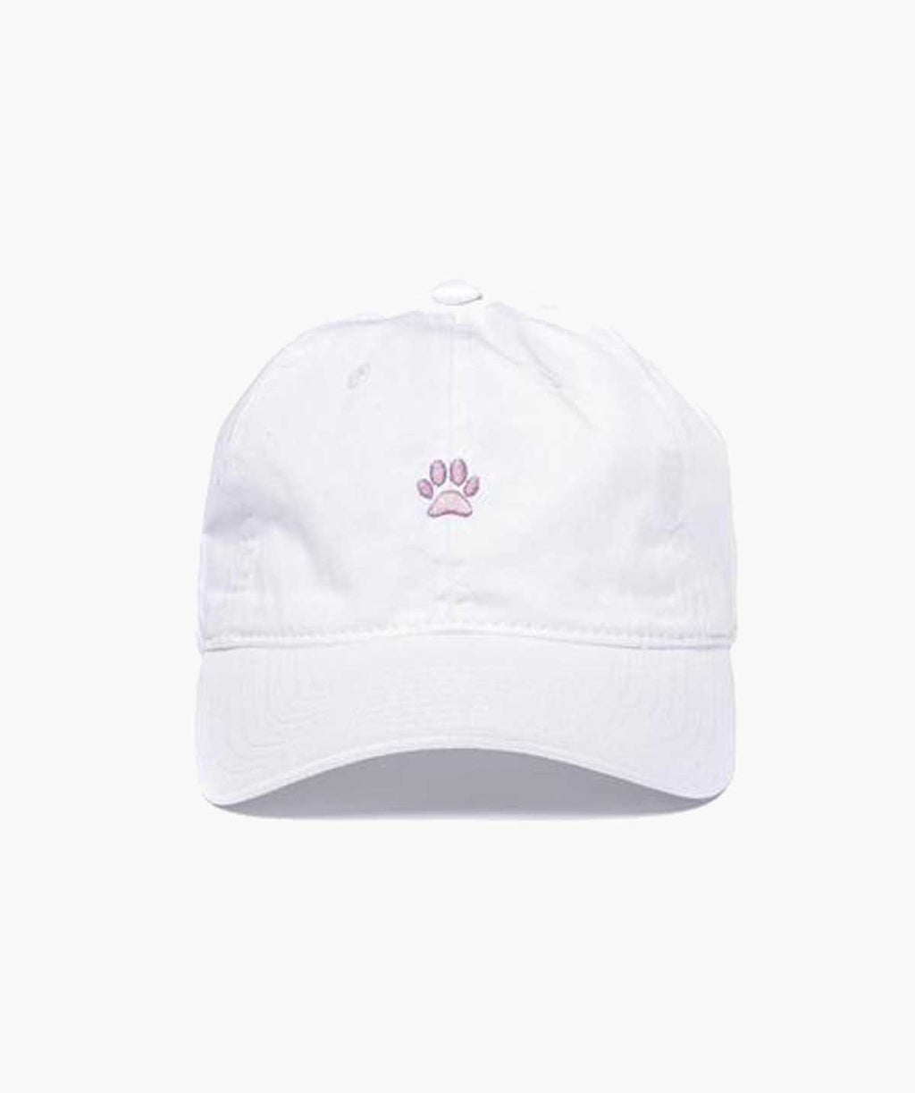 Dad Hat - White/Pink - MODLEASH