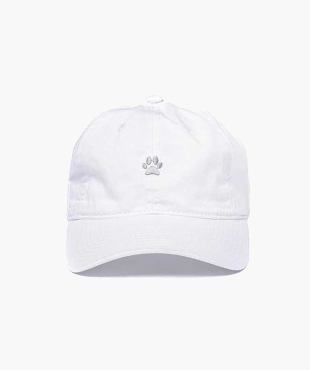 Dad Hat - White/Silver - MODLEASH