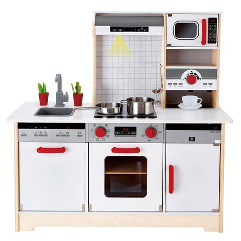 Hape - All-In-1 Wooden Kitchen
