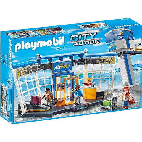 Playmobil - Airport with Control Tower