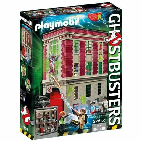 Playmobil - Ghostbusters Firehouse (9219)