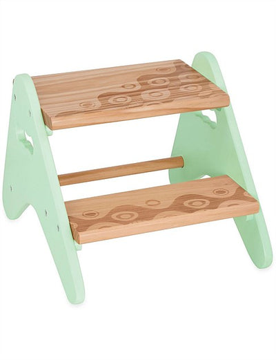 B Dot - Wooden Step Stool