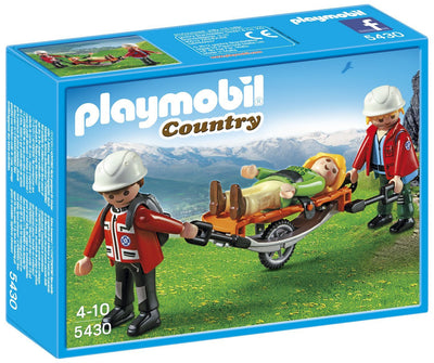 Playmobil - Mountain Rescue with Stretcher (5430)
