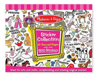 Melissa & Doug - Sticker Colletion Pink