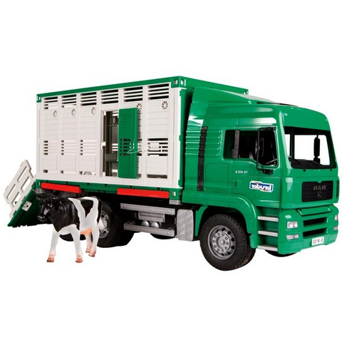 Bruder - Cattle Transport Truck