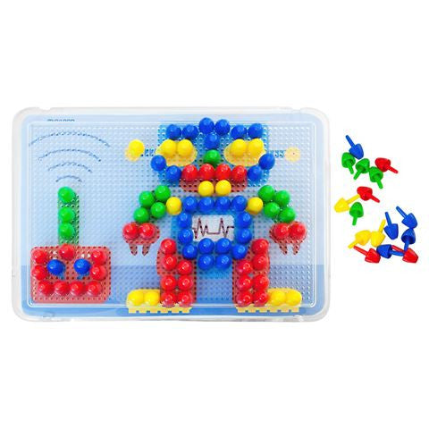 Miniland - Peg Board - 160pcs