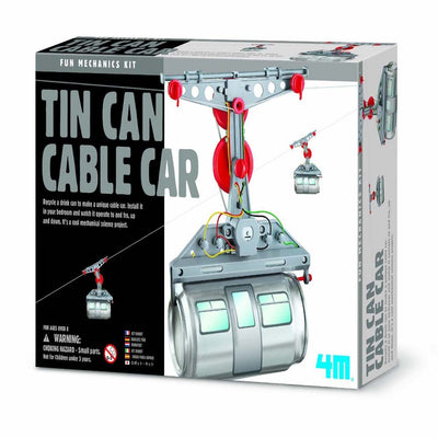 4M - Tin Can Cable Car