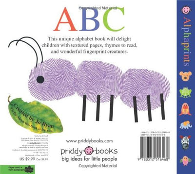 Alphaprints ABC (Board Book)