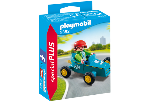 Boy with Go-Kart (5382)