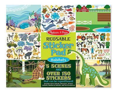 Melissa & Doug - Reusable Sticker Pads