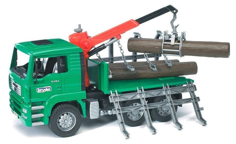Bruder - Man Timber Truck with Loading Arm