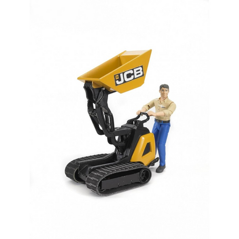 Bruder - JCB Dumpser & Construction Worker