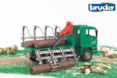 Bruder - Man Timber Truck with Loading Arm (02769)