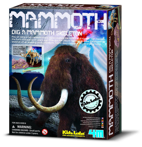 Dig-A-Woolly Mammoth