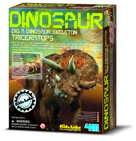 Dig-A-Dino Triceratops