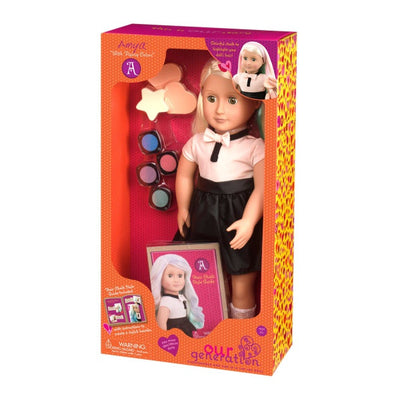 Our Generation - Doll Amya - Chalk Hair Deco Doll