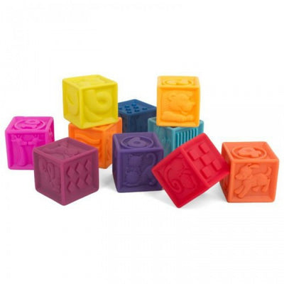 B Dot - One Two Squeeze Soft Blocks