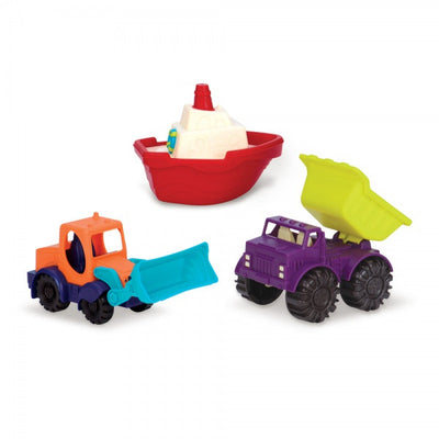 B Dot - Mini Vehicles 3pcs Set