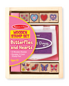 M&D - Butterfly & Hearts Stamp Set