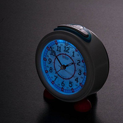 Easy Read - Alarm Clocks - 24hr - Red/Blue
