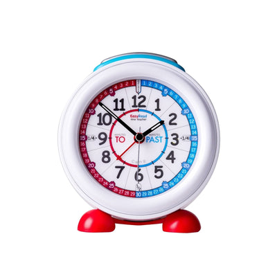 Easy Read - Alarm Clock - Past/To - Red and Blue