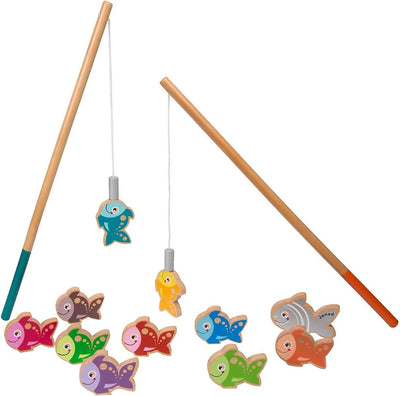 Janod - Magnetic Wooden Let's Go Fishing Game