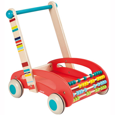 Janod - ABC Buggy Walker Wagon