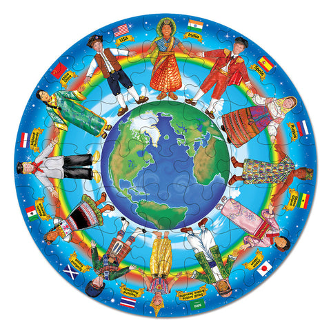 Children Around The World Puzzle
