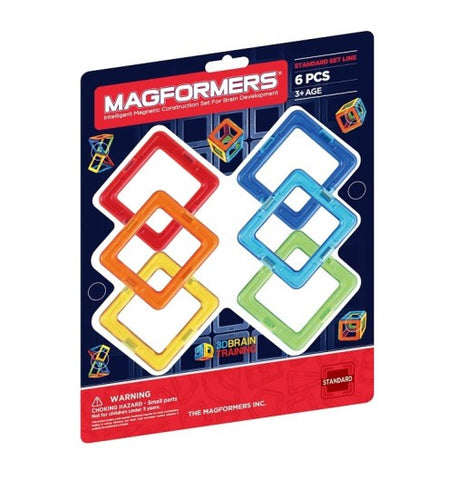 Magformers - Square 6 Set