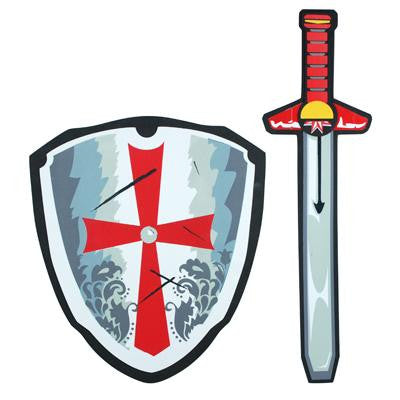 Knights Red Sword & Sheild