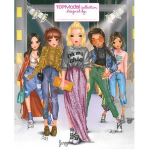 Top Model - Colouring Book