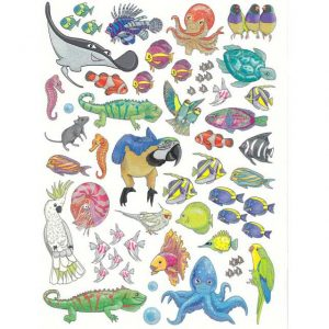 Top Model - Animal World - Create Your Animal World Colouring Book