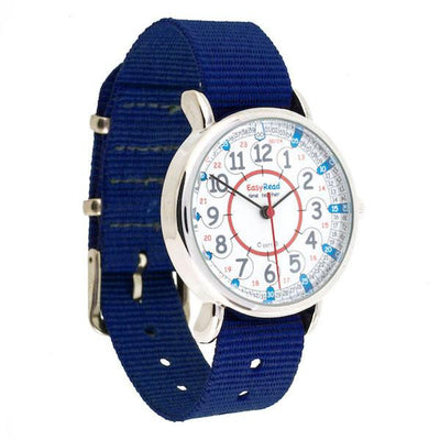 Easy Read - Watches - 24hr - Red/Blue Face