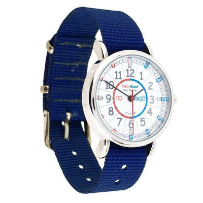 Easy Read - Watches - Past/To - Red/Blue Face