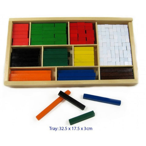 Cuisenaire Rods - 308pcs