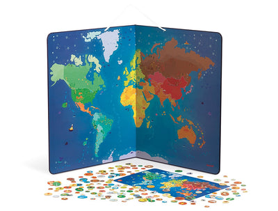 Janod animals magnetic world map the play room janod animals magnetic world map gumiabroncs Gallery
