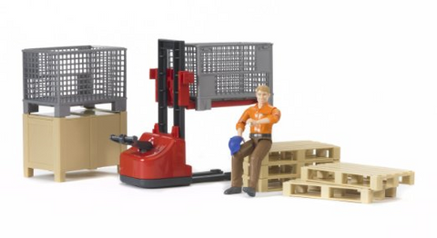 Bruder - Logistics Figure Set