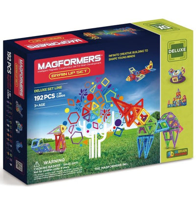 Magformers - Brain Up Set 192Pcs