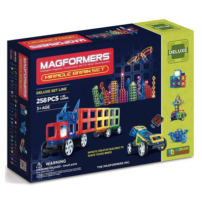 Magformers - Miracle Brain Set 258Pcs
