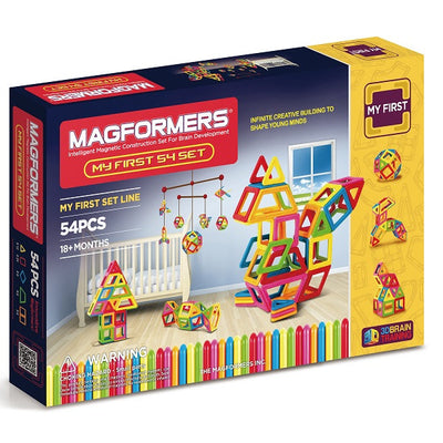 Magformers - My First Magformers 54 Pcs