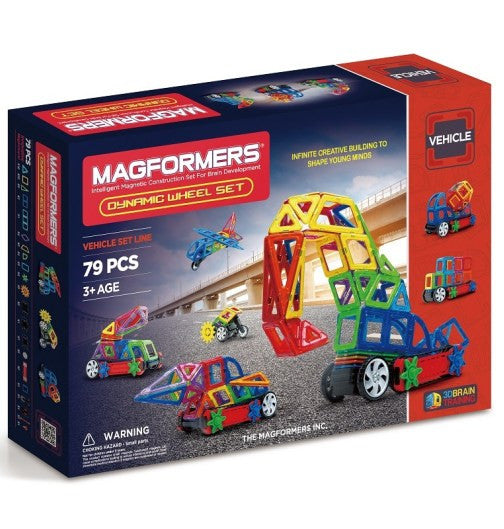 Magformers - Dynamic Wheel Set 79Pcs