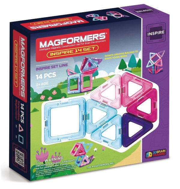 Magformers - Inspired Set 14Pcs