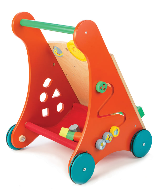 Tender Leaf Toys - Baby Activity Walker - The Play Room