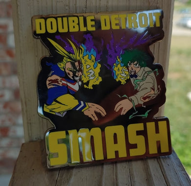 Double Smash Pin