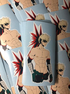 Bakugo Sticker