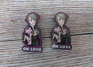 Victor On Love Pin