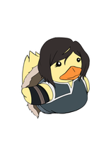 Load image into Gallery viewer, Ducky x Korra