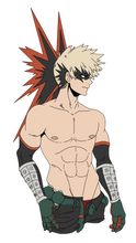 Load image into Gallery viewer, Shirtless Bakugo